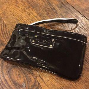 Kate Spade Patent Leather Wristlet
